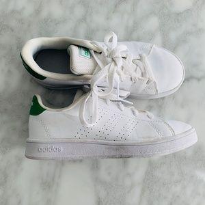Adidas Stan smith White Sneakers Girls Leather 1